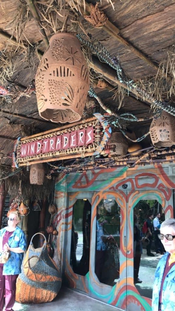 La tienda Windtraders en Pandora, el mundo de Avatar, en Animal Kingdom de Walt Disney World