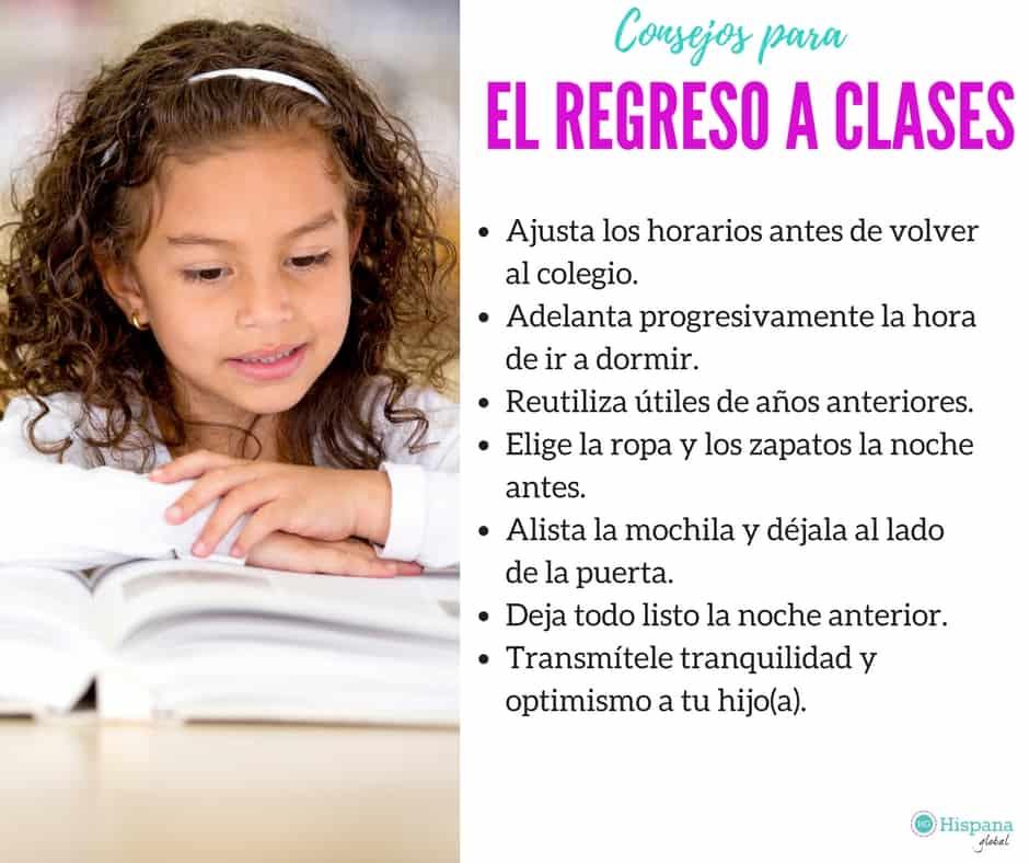 VIDEO: Los mejores consejos para el regreso a clases - Hispana Global