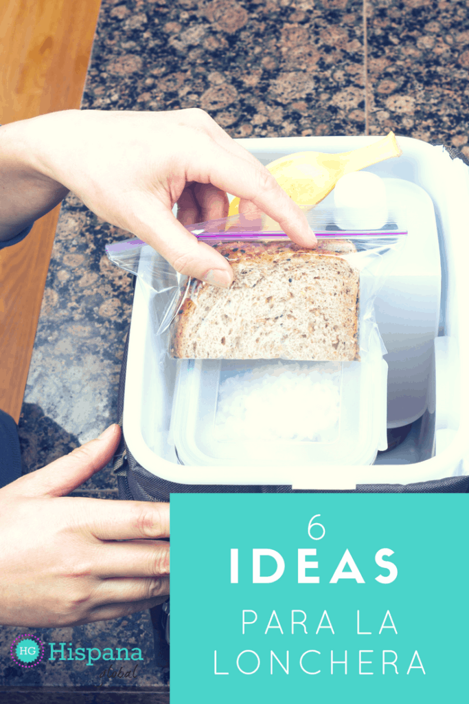 6 ideas para la lonchera