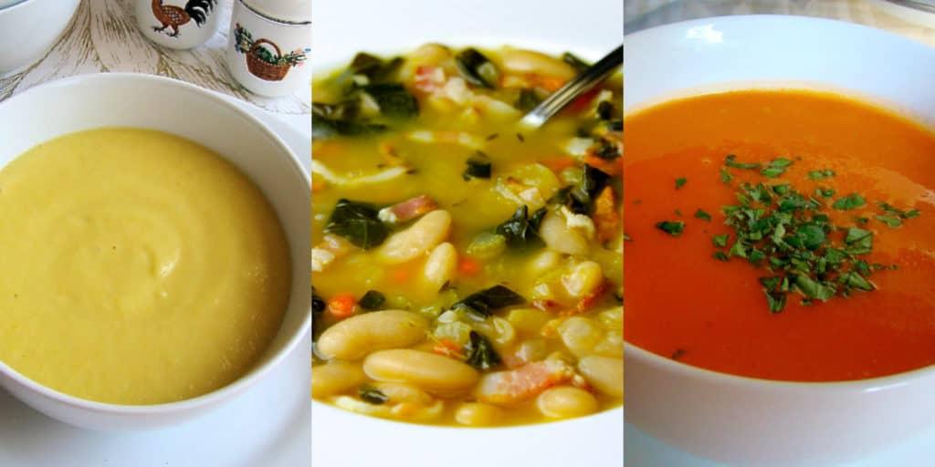 3 sopas que se preparan en 30 minutos hispana global for Cocinar en 30 minutos