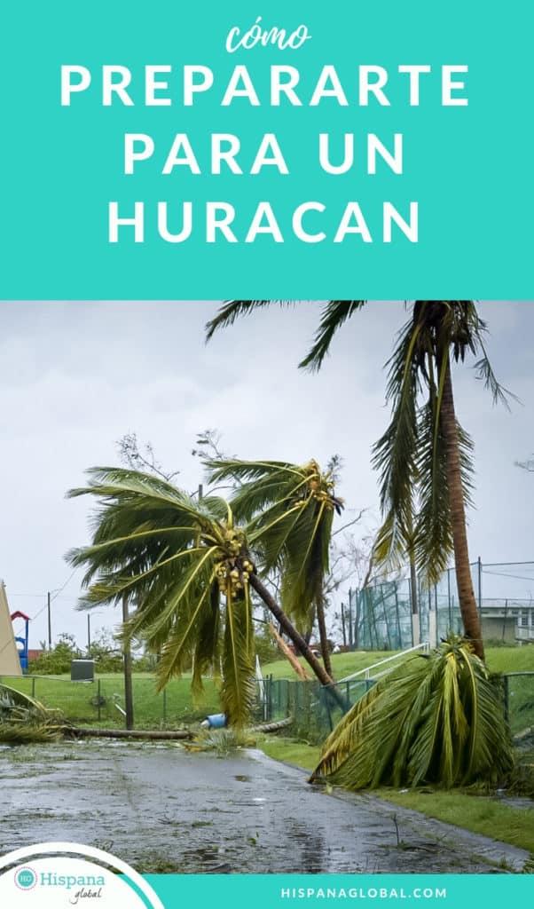 Consejos para prepararte para un huracán o tormenta tropical
