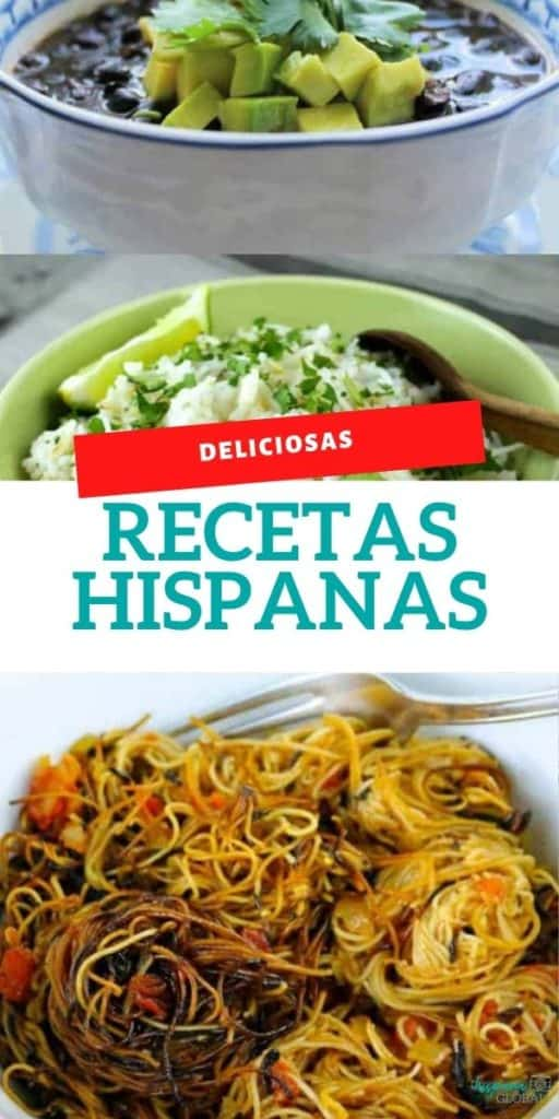 Estas deliciosas recetas son ideales para celebrar nuestra herencia hispana o simplemente nuestra cocina latina. ¡Son fáciles de preparar!