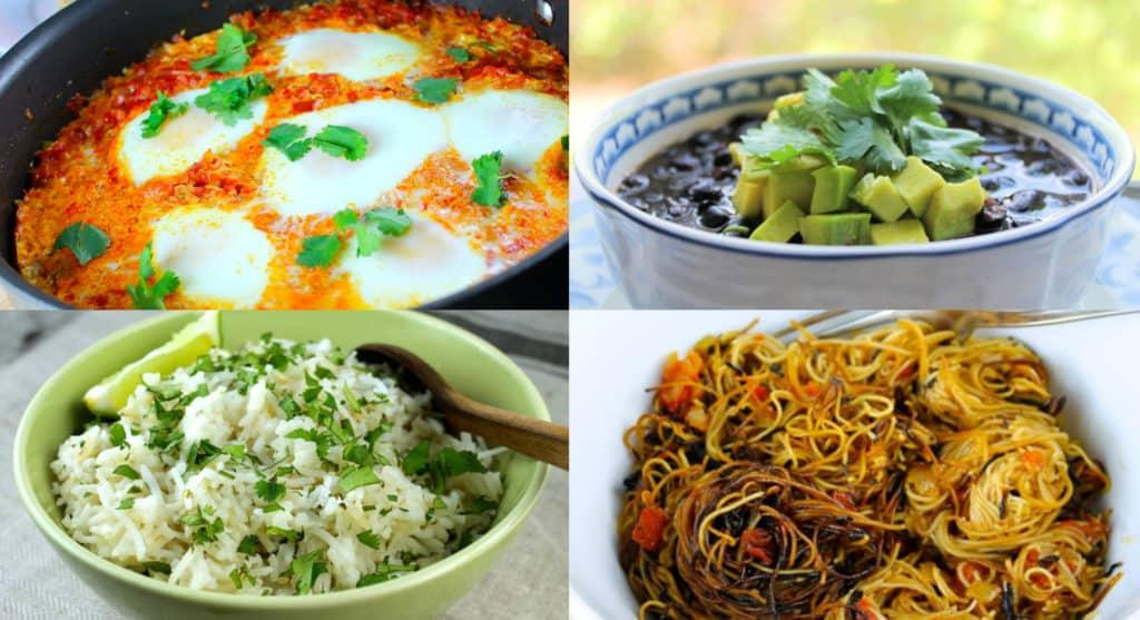 Estas 4 deliciosas recetas son ideales para celebrar nuestra herencia hispana o simplemente nuestra cocina latina. ¡Son fáciles de preparar!