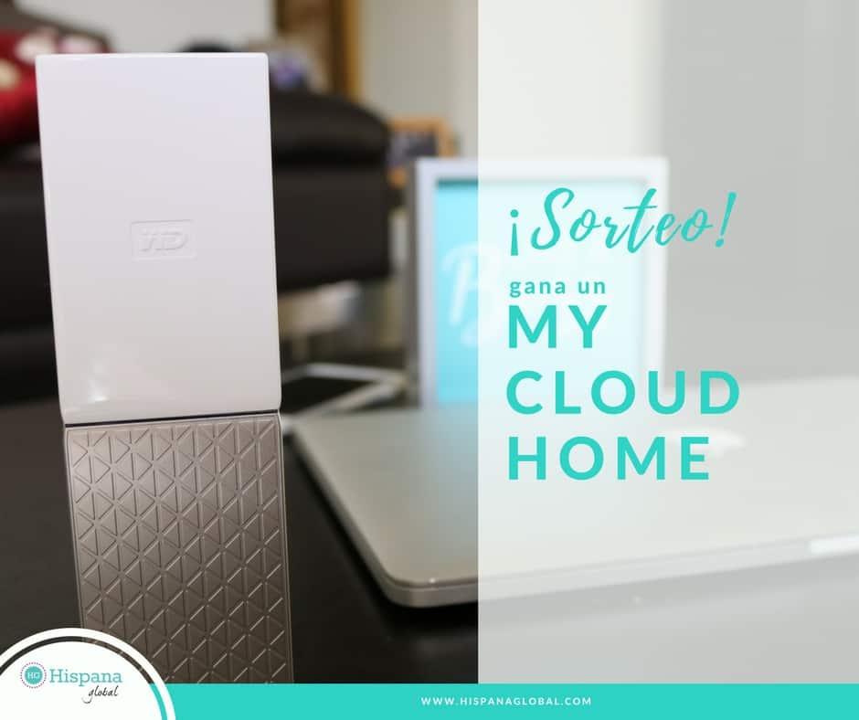 Participa de este maravilloso sorteo para ganar un My Cloud Home de 3TB para almacenar y administrar tus fotos, videos y todo tu contenido digital.