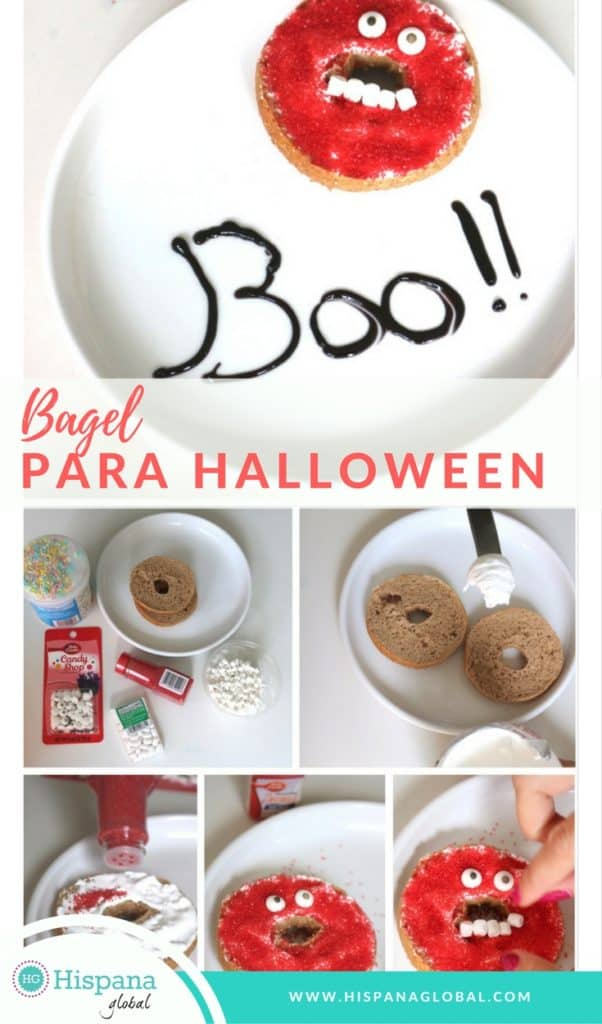 Bagel para Halloween