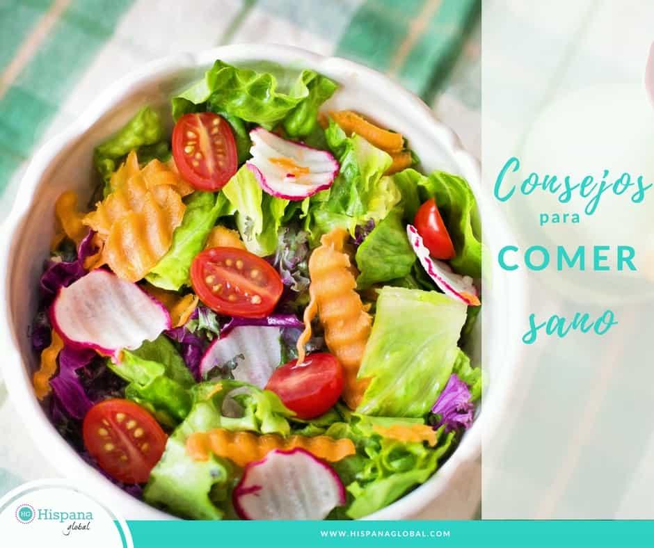 6 consejos para comer sano