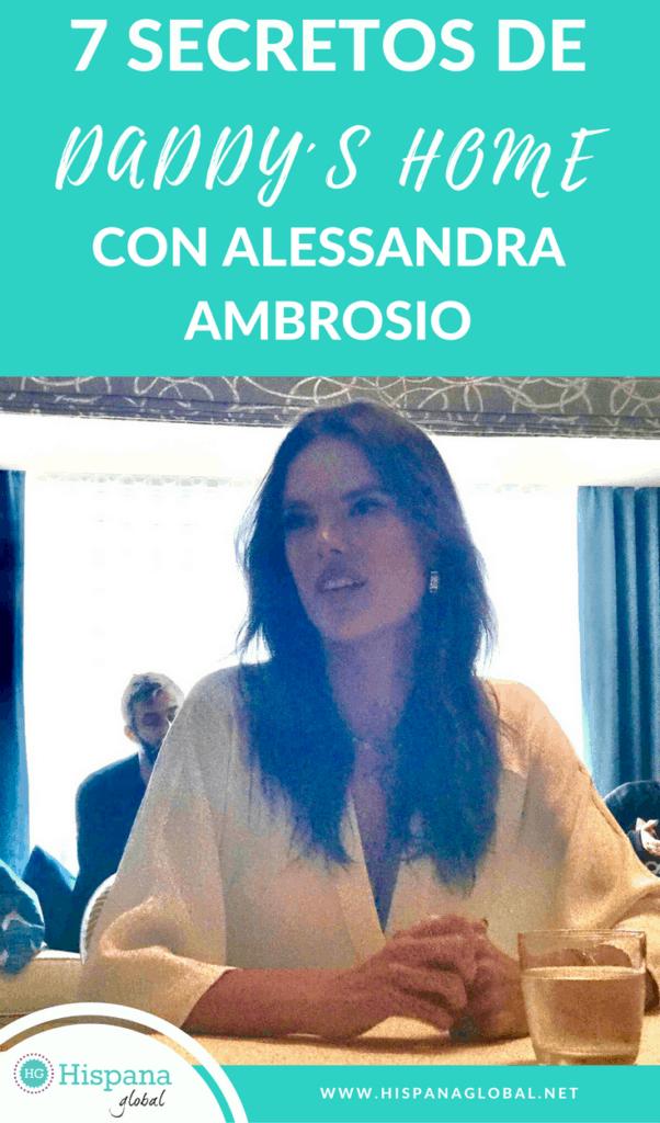 Entrevistamos a Alessandra Ambrosio, quien actúa en la nueva comedia Daddy's Home 2. Aquí tienes 7 secretos que nos reveló.