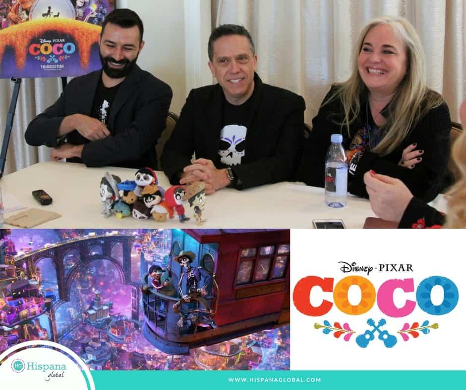 Directores y productora de Coco