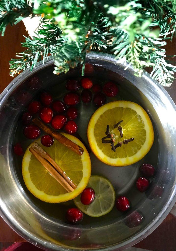 popurrí de frutas y especias