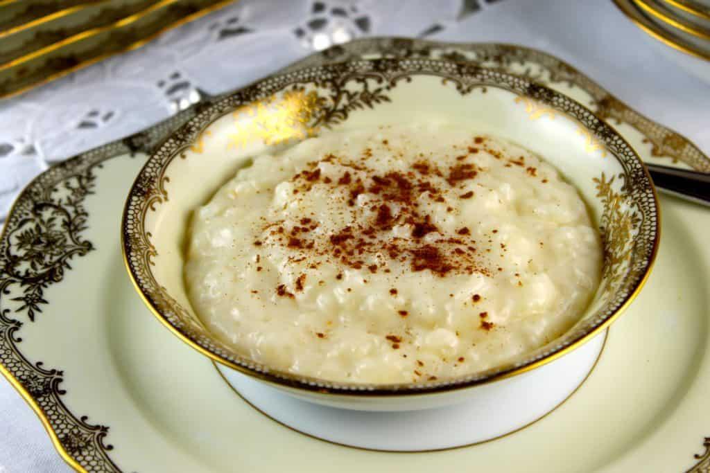 Arroz con leche - 4 recetas a base de leche
