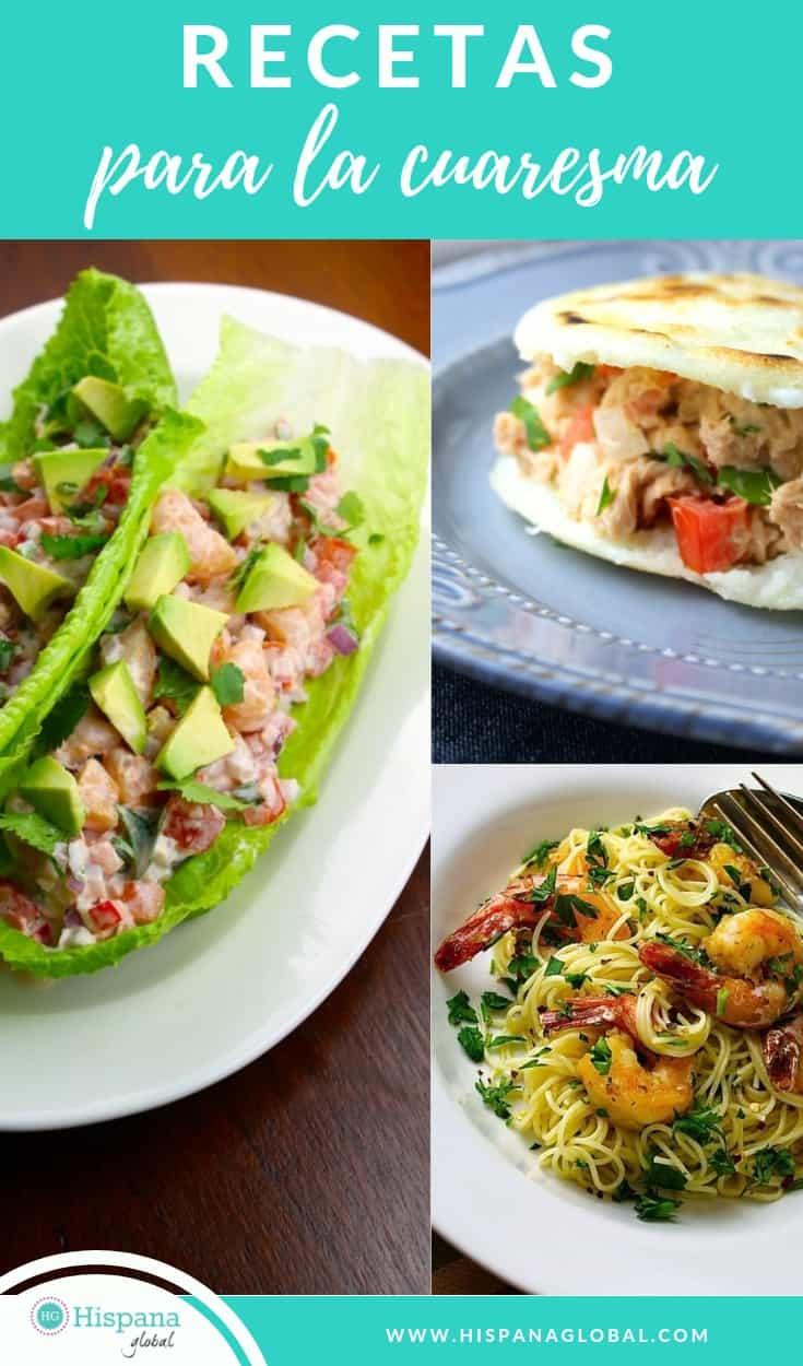 Recetas para la cuaresma deliciosas y fáciles de preparar