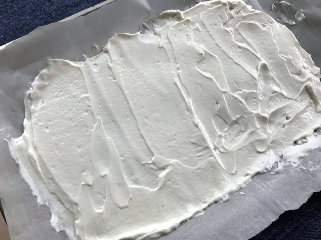 yogurt bark, corteza de yogurt