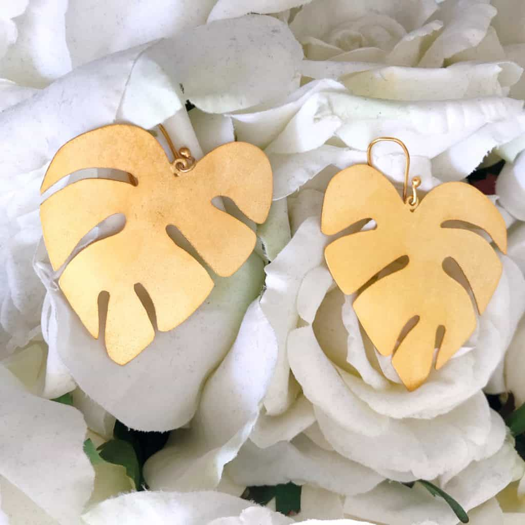 Leaf Earrings - last-minute mother's day gift ideas
