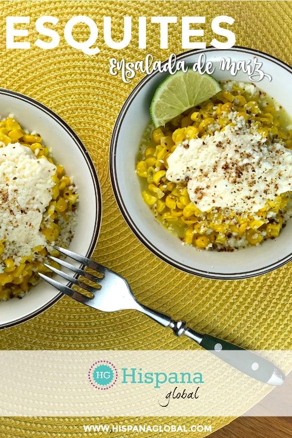 Los esquites son una ensalada de maíz que se come en las calles de México. Es tan fácil de preparar como deliciosa. Haz clic para ver la receta paso a paso.
