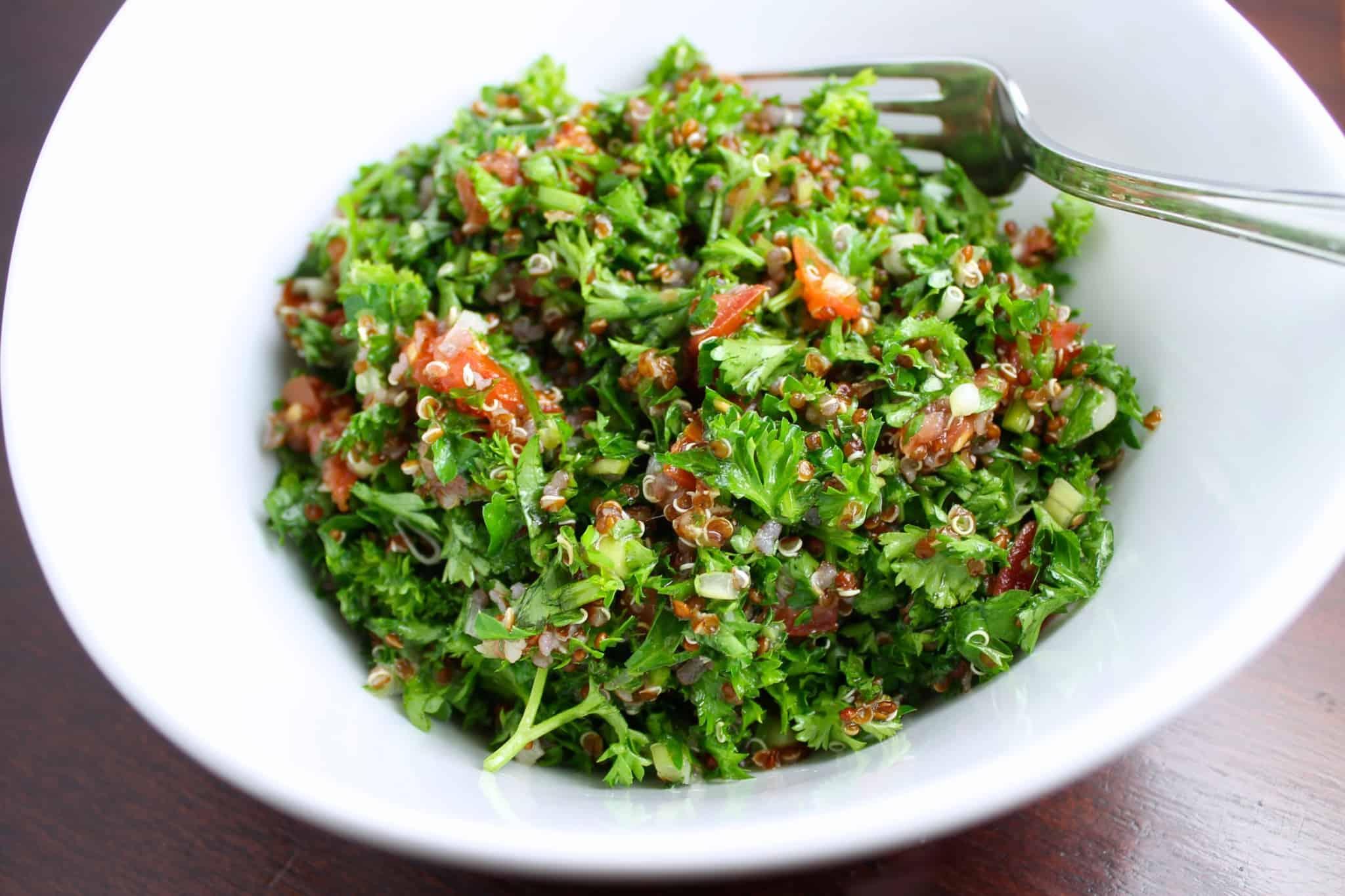 quinoa, chía y amaranto