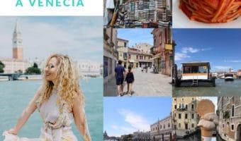 Consejos si viajas a Venecia con tu familia