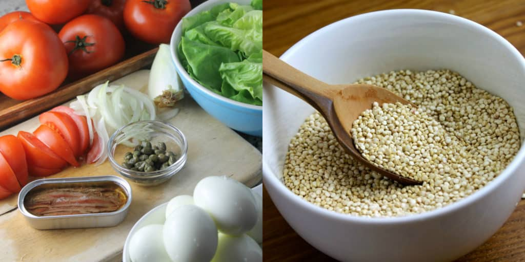 Ingredientes de Buddha Bowl