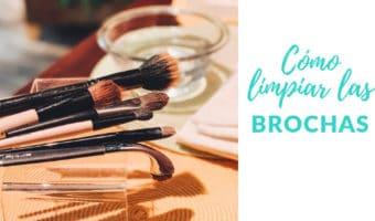 Averigua cuál es la mejor manera de lavar tus brochas de maquillaje y cada cuánto debes limpiarlas. ¡Quizás te sorprenderá!