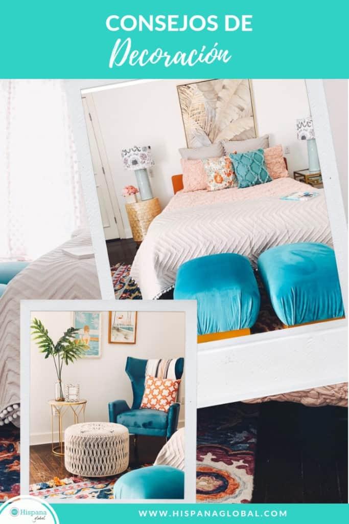 Descubre consejos muy prácticos para decorar el hogar sin gastar una fortuna.