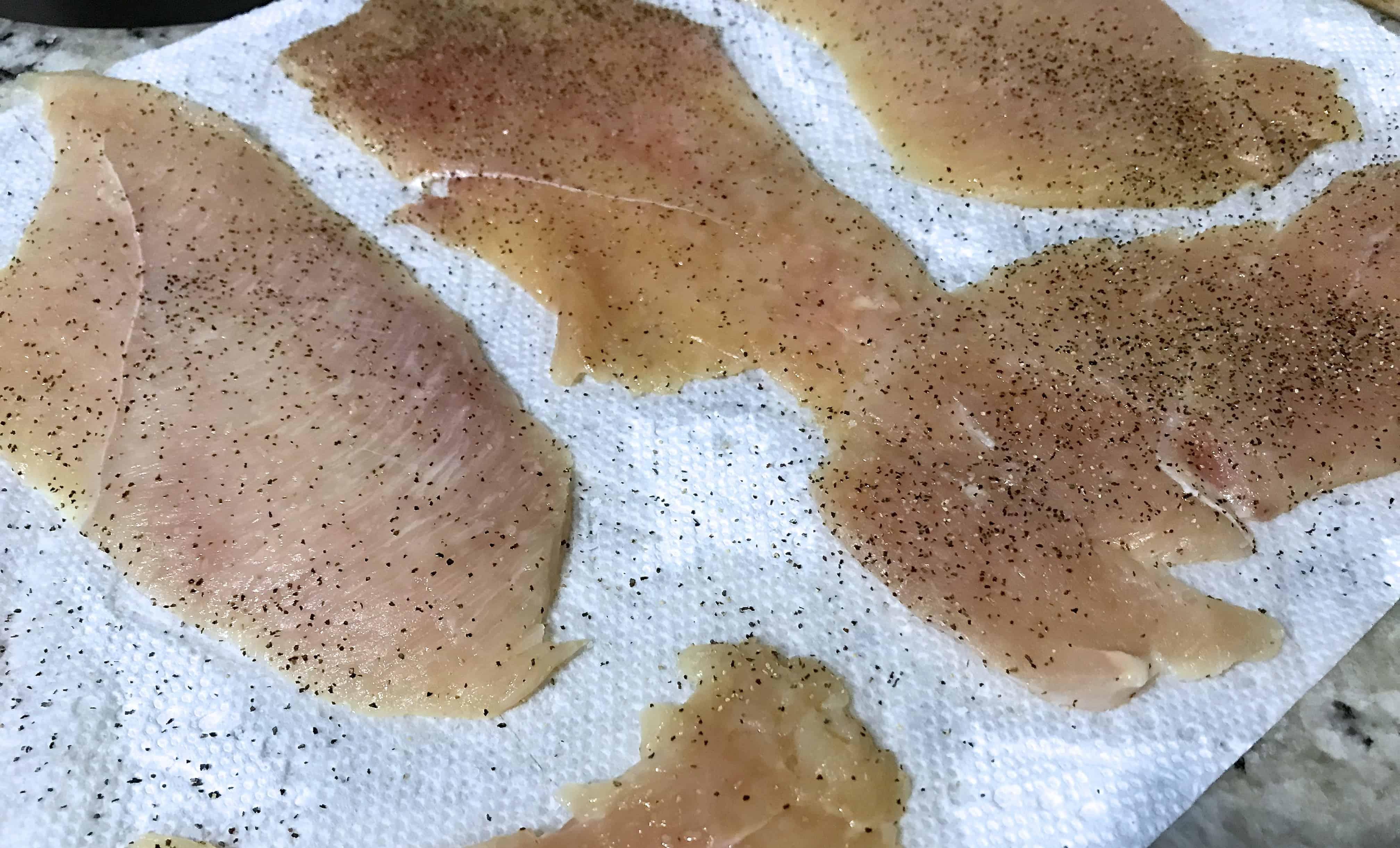 pollo a la milanesa