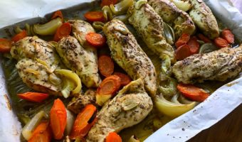 pollo al horno con vegetales - Hispana Global