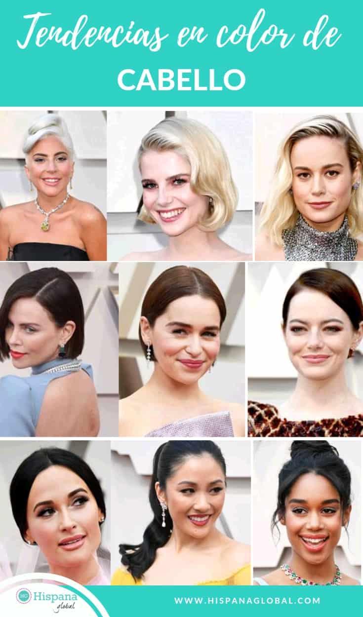 Si quieres un cambio de look, no te pierdas estas tendencias en tonos y tintes de cabello inspiradas en las famosas de Hollywood.