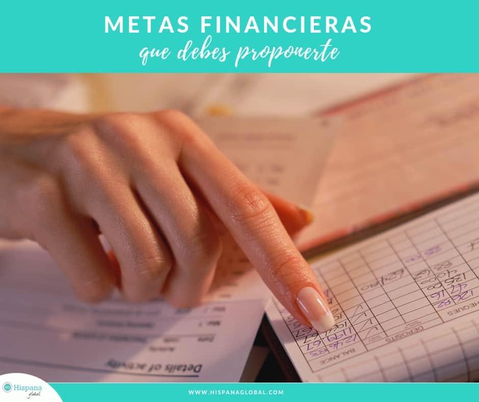metas financieras que debes proponerte