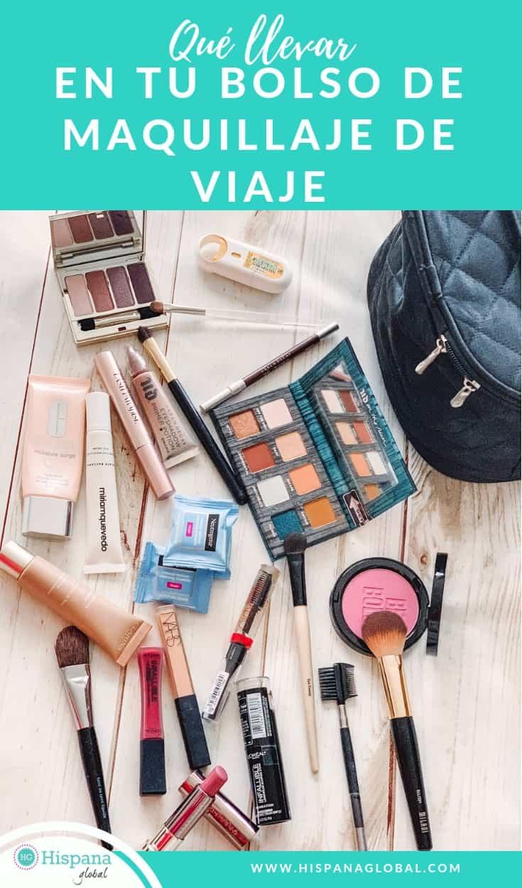 Si deseas lucir lo mejor posible durante tu viaje pero sin empacar en exceso, aquí están los 15 artículos que debe incluir en tu estuche o neceser de maquillaje de viaje. ¡El resto es opcional!