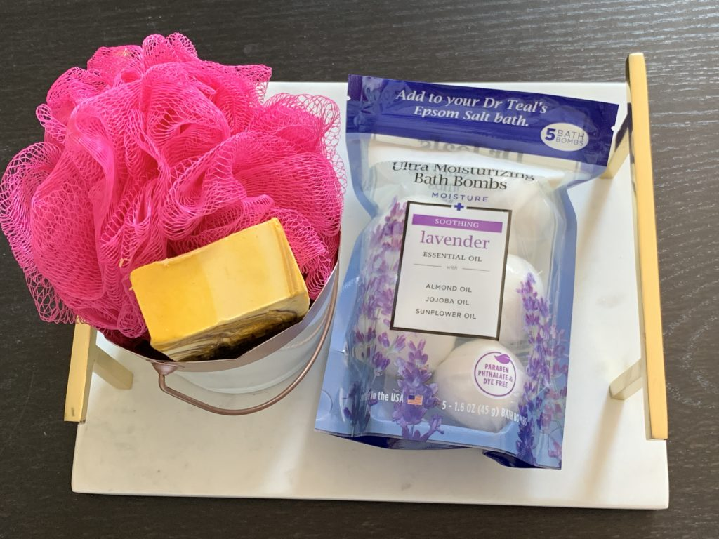 Mother's Day gift ideas - bath accessories
