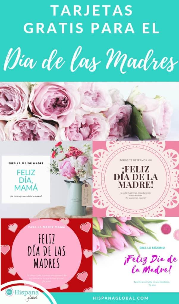 Para ayudarte a celebrar el día de la madre, encuentra aquí tarjetas gratis que puedes imprimir, decorar o enviar electrónicamente para festejar a mamá.