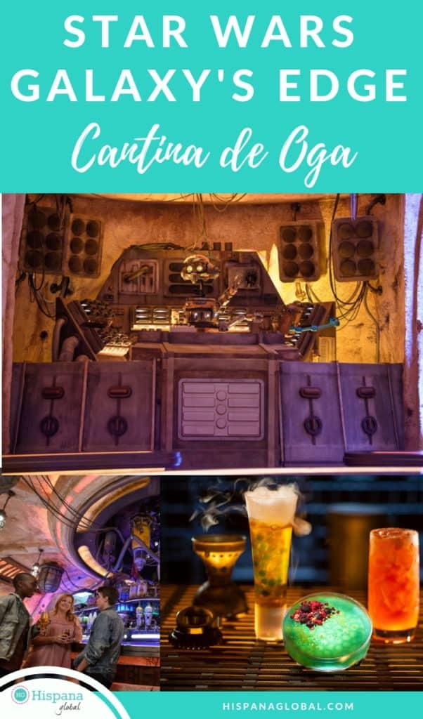 Oga's Cantina en Star Wars Galaxy's Edge