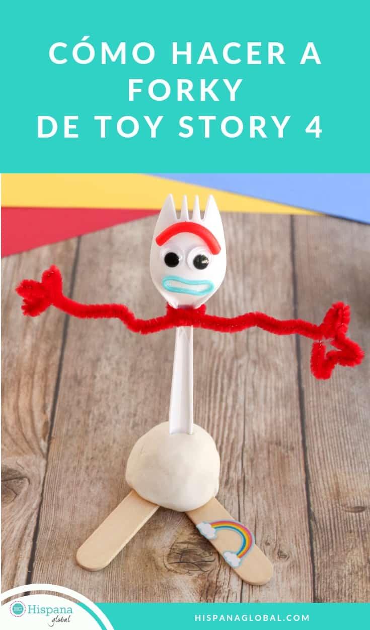 Si a ti y a tus hijos les encantó Toy Story 4, te divertirás mucho haciendo tu propio Forky en casa. ¡No te pierdas las instrucciones paso a paso!