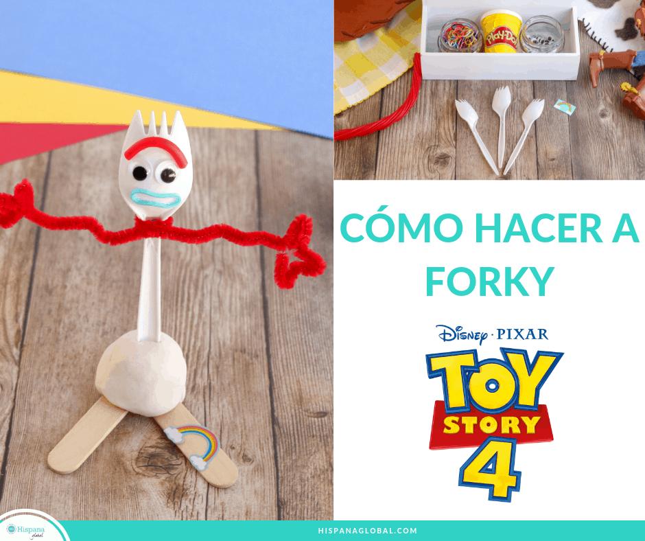 Cómo Hacer Tu Propio Forky Inspirado En Toy Story 4