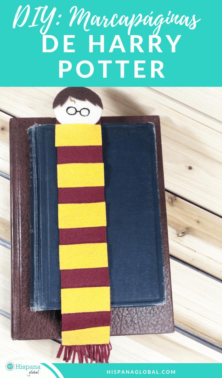 ¡Tenemos la actividad perfecta para la vuelta al cole! Crea con tus hijos este marcador de libros de Harry Potter para celebrar el amor por la lectura.