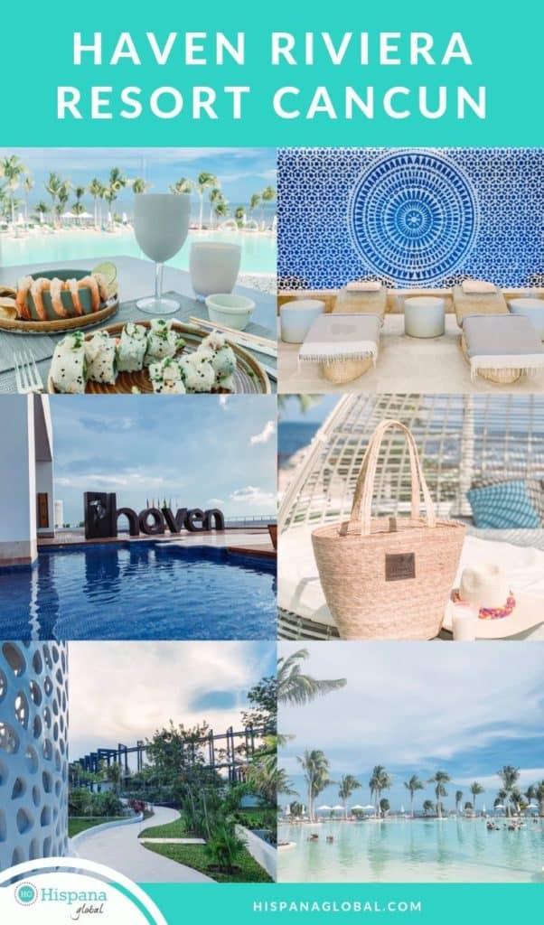 A menos de 20 minutos del aeropuerto de Cancún, está el nuevo resort todo incluido Haven Riviera Resort. Aquí te decimos todo lo que debes saber de este hotel para adultos.