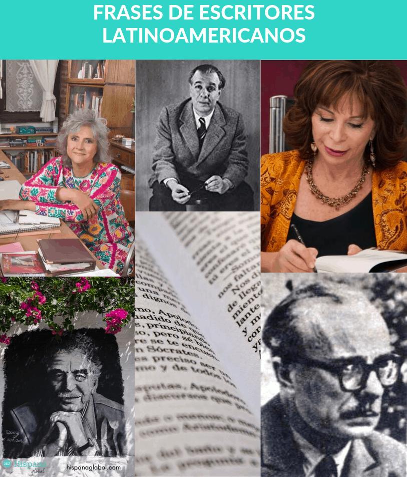 Frases de escritores latinoamericanos para inspirarte