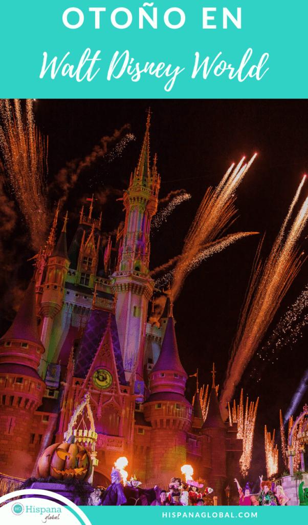 7 maneras de disfrutar Walt Disney World en Orlando en el otoño