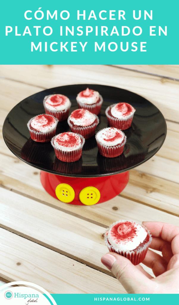 Cómo hacer un plato inspirado en Mickey Mouse