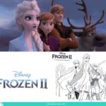 Dibujos para colorear gratis de Frozen 2