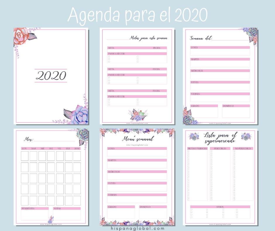 Agenda gratis para el 202
