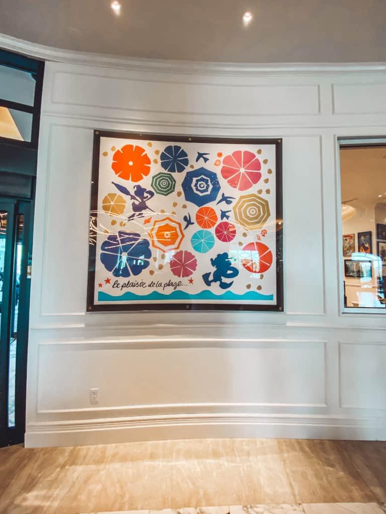 Arte en el nuevo hotel Disney's Riviera Resort