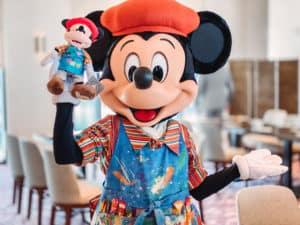 Mickey Mouse en el nuevo hotel Disney's Riviera Resort