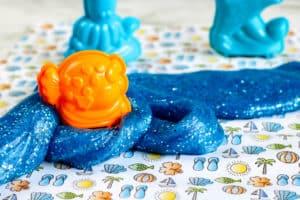 Como hacer slime marino inspirado en el oceano