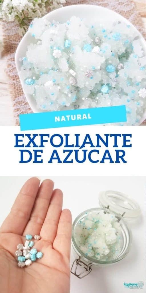 Si buscas una actividad diferente para fanáticos de la película Frozen, te encantará este exfoliante de azúcar natural. ¡Deja las manos tan suaves!