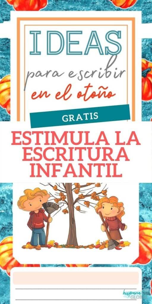 Consejos e ideas para estimular la escritura creativa en los niños. Además, obtén gratis un folleto con ideas inspiradas en el otoño.