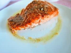 Receta facil salmón a la mantequilla