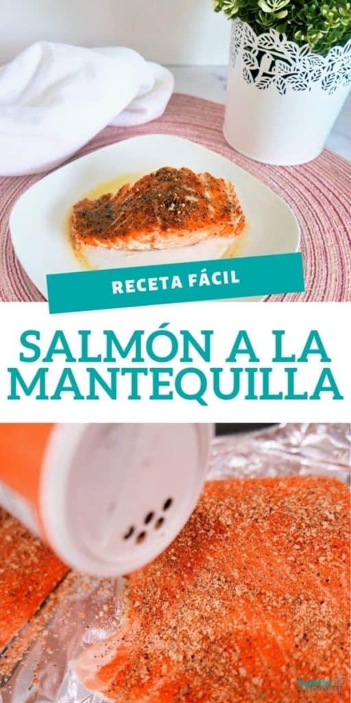 Esta riquísima receta de salmón a la mantequilla es muy fácil de preparar y le encantará a todos. Además es excelente fuente de proteína y omega 3.