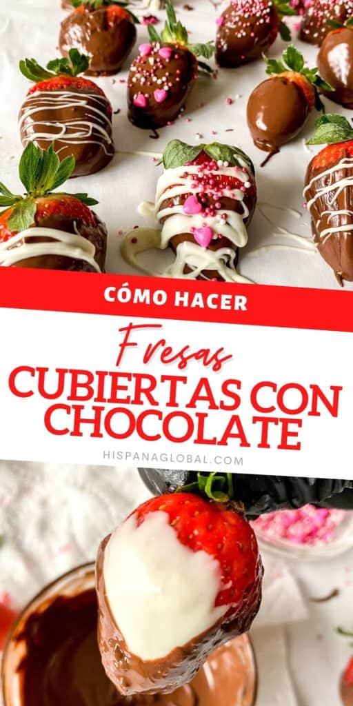 Las frutillas o fresas cubiertas con chocolate son realmente una delicia. ¡No creerás lo fácil que es prepararlas! Te damos instrucciones paso a paso.