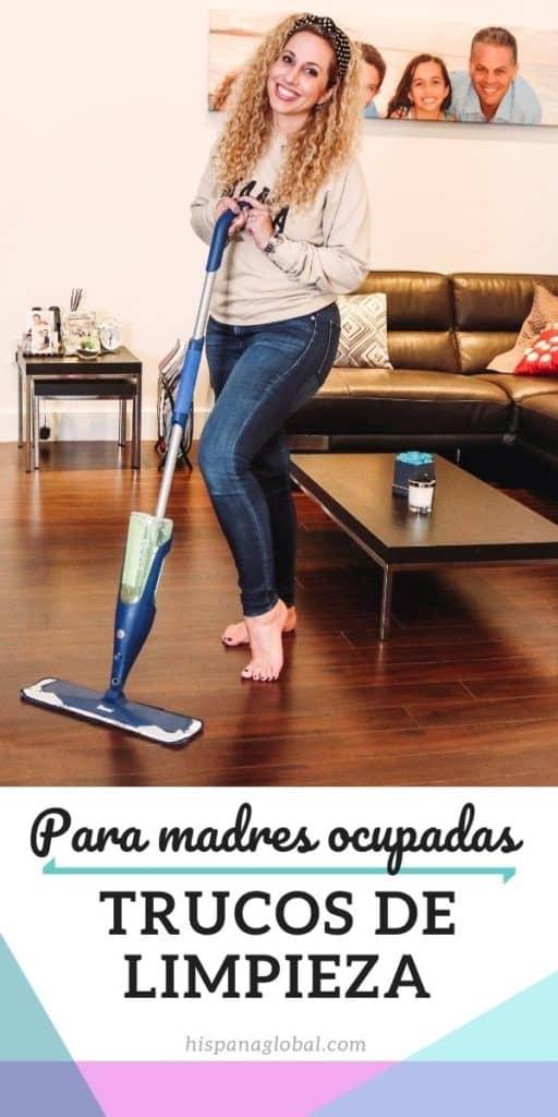 Simplifica la hora de limpiar tu hogar con estos trucos de limpieza para madres ocupadas y así facilita el proceso.