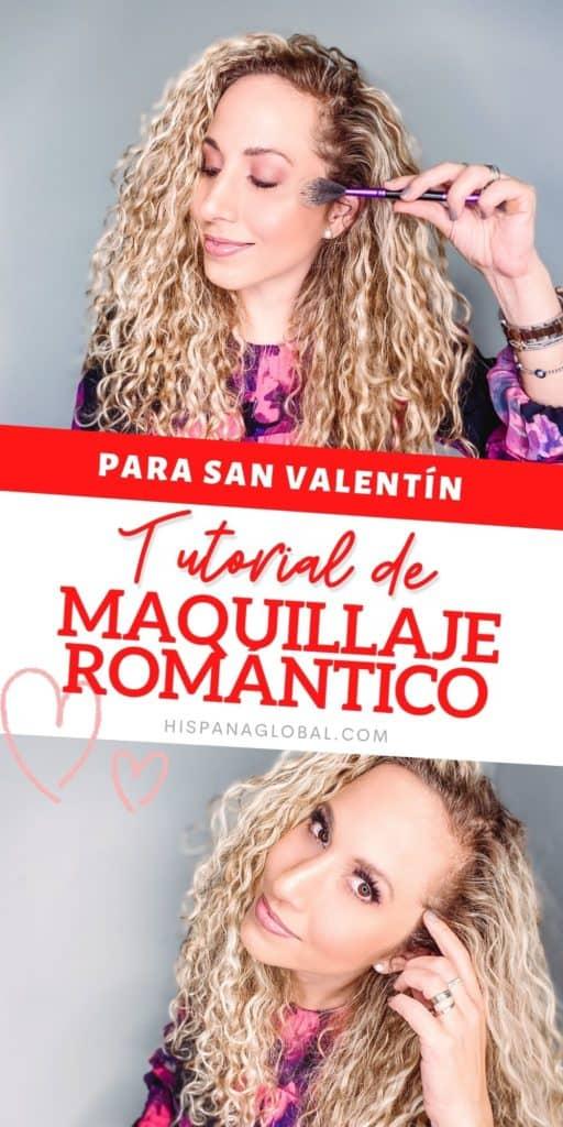 Descubre cómo hacer un maquillaje romántico ideal para el día de San Valentín en pocos pasos usando tonos rosa. ¡Lucirás espectacular!